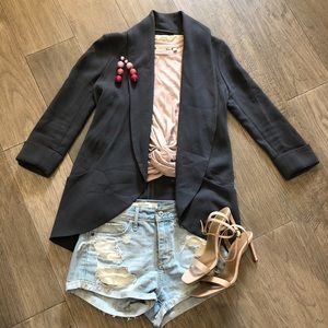 Aritzia unstructured 'chevalier' blazer